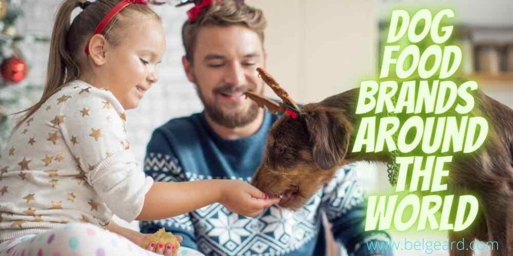 Dog food brands around the world