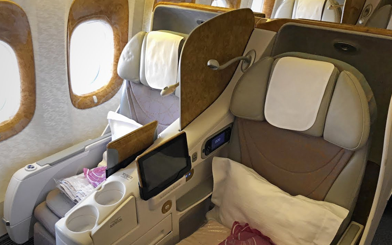 business class available on domestic flights