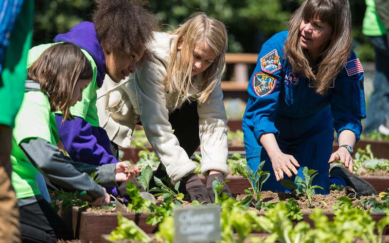 Benefits of Gardening for Students