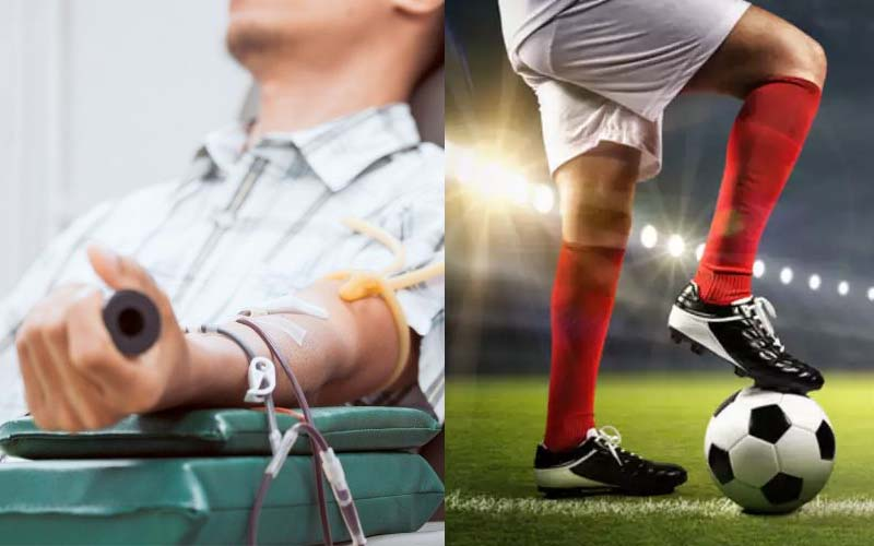 Can I Play Football After Donating Blood?