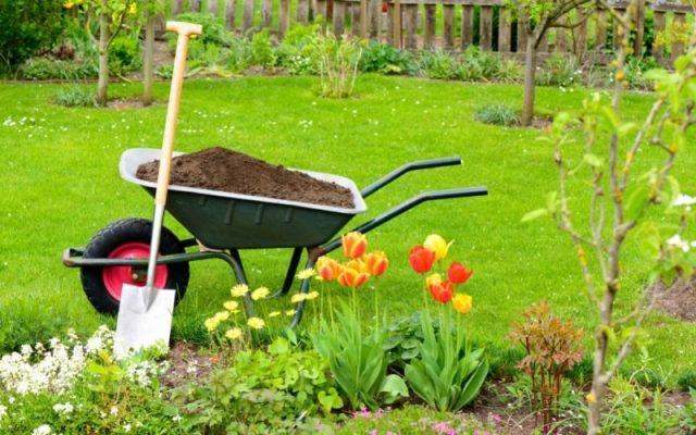 Aerobic composting for gardening