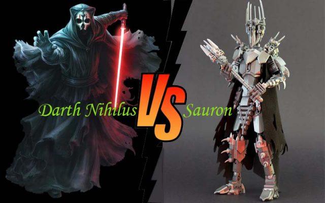 Darth Nihilus vs Sauron
