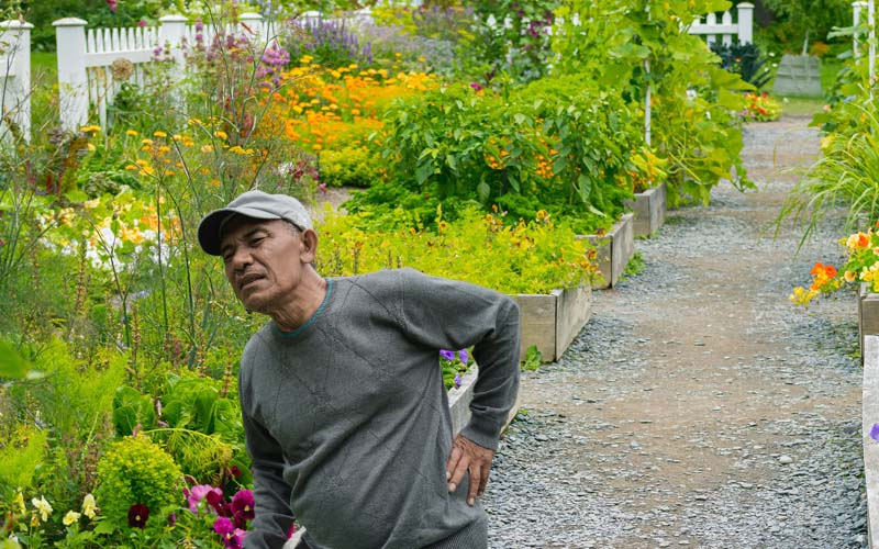 Is Gardening bad for your back?