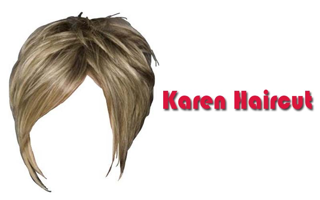 Karen haircut example