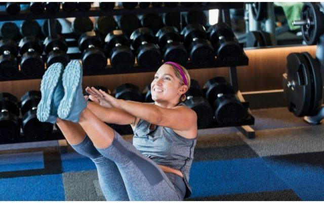 V-Sits exercise