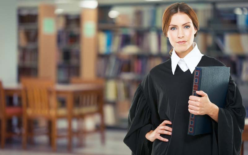 Woman in a law career
