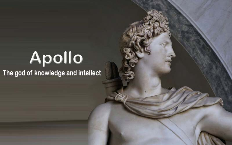 Apollo: The god of knowledge and intellect
