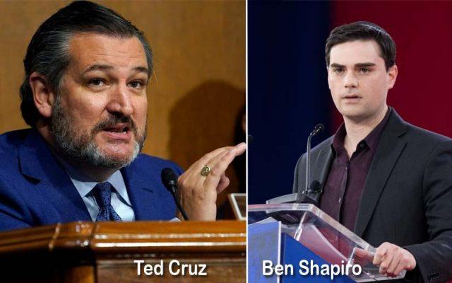 Ted Cruz with Ben Shapiro