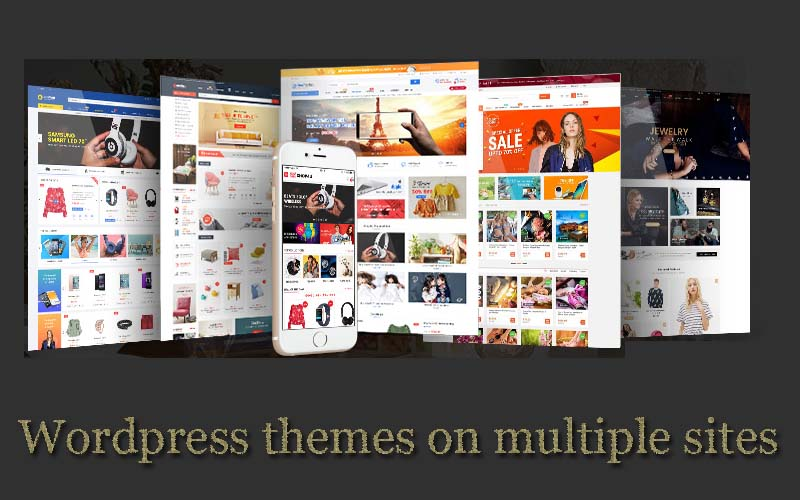 Can I use wordpress themes on multiple sites?
