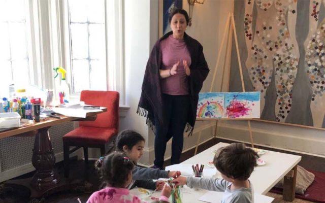 Virtual representation to the child's imagination