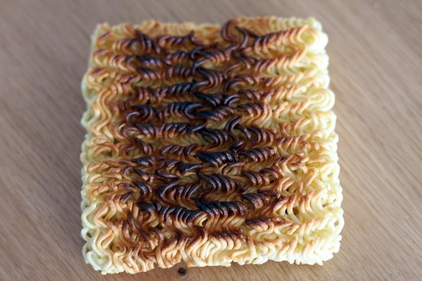 Burnt Ramen Noodles